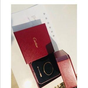 Cartier Jewelry - Authentic Cartier Rose Gold Screw SM Love Bracelet
